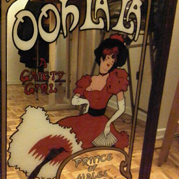 A Gaiety Girl (mirror) - Advertising