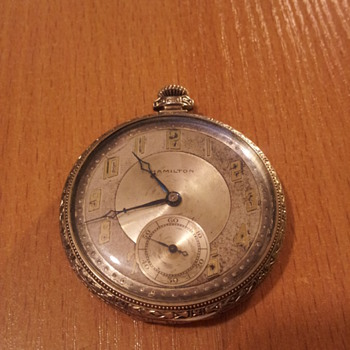 1939 Hamilton pocket watch