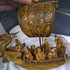 *****VINTAGE ANTIQUE wooden asian ships NEED HELP*****