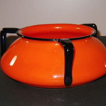 Tango 3-Handle: shape#3 - Keystone bowl - Art Glass
