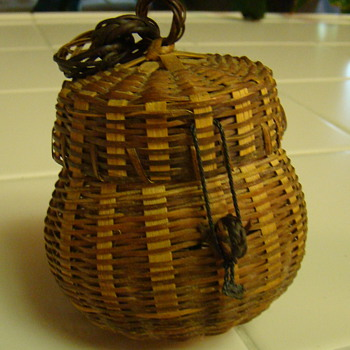 Small wicker basket - Sewing