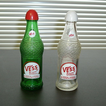 Vess Salt & Pepper Shakers - Bottles