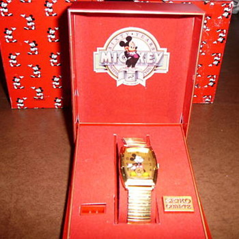 1988 60th Anniversary Seiko Mickey - Wristwatches