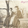 "Grand ma at The College"" Graduation Year ""1909"