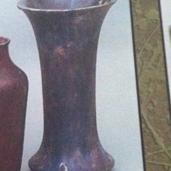 Geno check glaze - Art Pottery