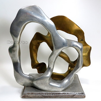 Maggie Milone metal art sculpture