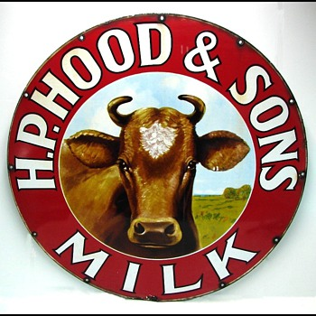 Hood Milk Signs - Elsie the Cow - Signs