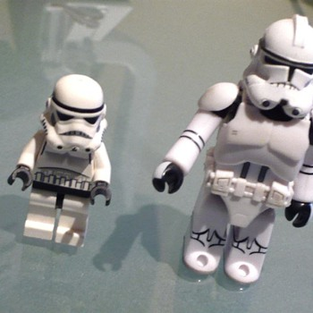 Star wars Storm Trooper Mini Figure 2008 - Not so Mini