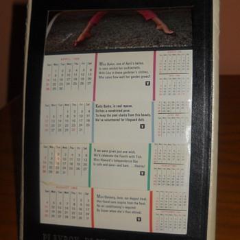 1968 Playboy Calendar