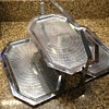 Chase 3 tier folding tray