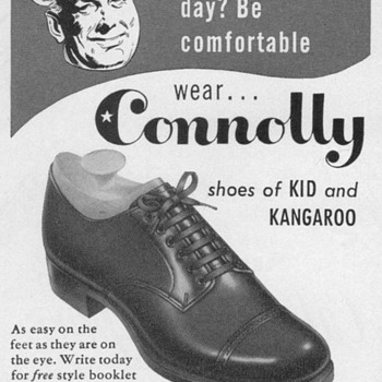 1953 - Connolly Shoes Advertisement - Advertising
