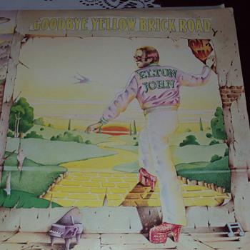 Elton John Album Cover Great Art - Records