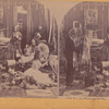 Early Stereoscopic of girls with dolls 1800&#039;s