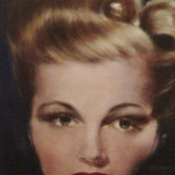 1940s Signed Portrait Mimi Forsythe Actress  - Visual Art
