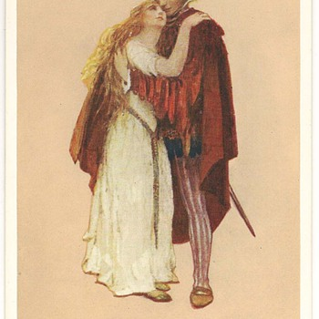 Shakespearean Images on Postcards by Marjorie C. Bates