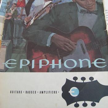 Vintage Epiphone Guitar Catalog
