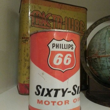 Phillips 66 oil can...THANKS KERRY!