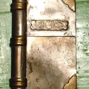 Trench Art Cigarette Lighter - Folk Art
