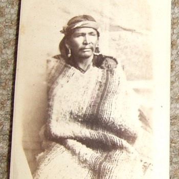 "Native American ""War Chief"" CDV"