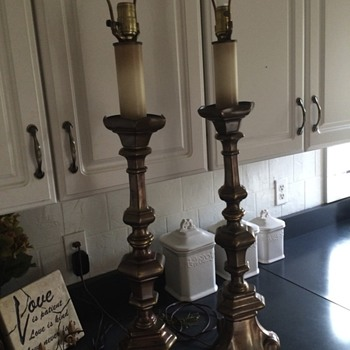 Old lamps - Lamps