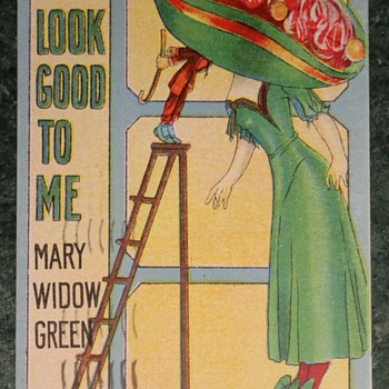 You Look Good to Me Mary Widow Green - Postcards