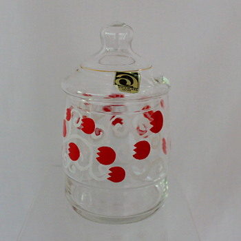 Lolly jars by Aderia Glass