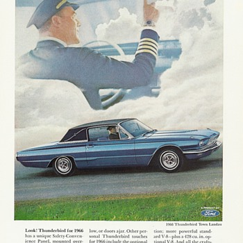 Ford Thunderbird Magazine Advertisements  - Advertising