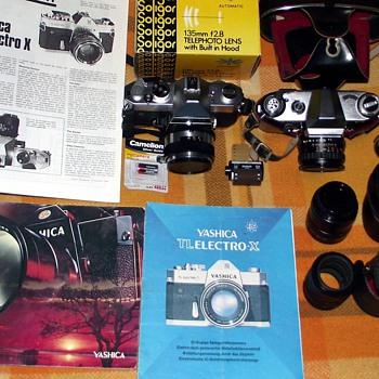 1960s-yashica/praktica cameras and lenses/macro/2x-3x converter. - Cameras