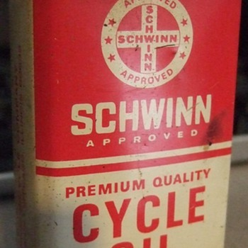 Schwinn Cycle Oil Can 4 oz.