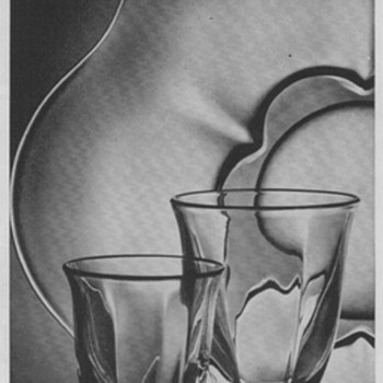 1950 Duncan & Miller Glass Advertisements