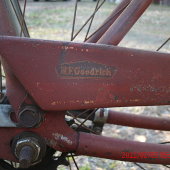 1950's ? bike - Sporting Goods