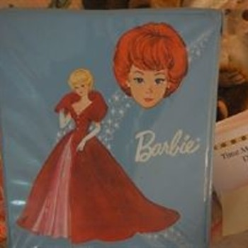 Barbie Doll Case--I Don't Recall Her With Short Red Hair.  1963