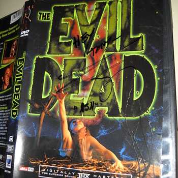 The Evil Dead autographed