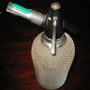 soda syphon bottle - Bottles