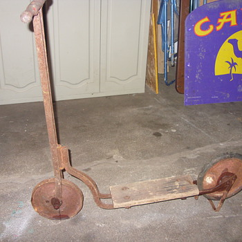 depression era kids scooter