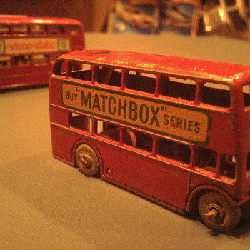 Every die-cast Toy maker made a British Bus... - Model Cars