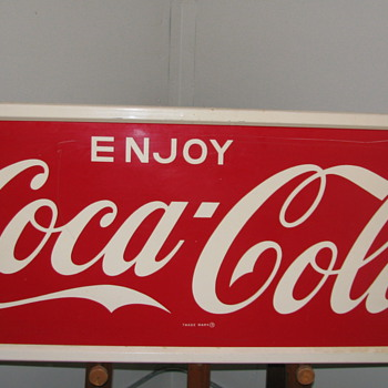Coca-Cola Tin Sign