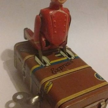 1930's express boy windup Toy