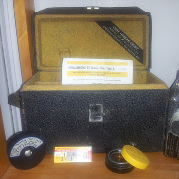 The Cine-Kodak Eight Model 60 Movie Camera