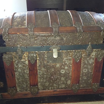 Trunk from an estate sale