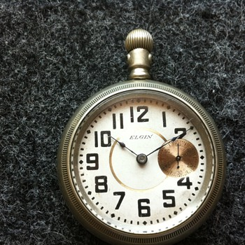 1898(?) Elgin Pocket Watch - Pocket Watches