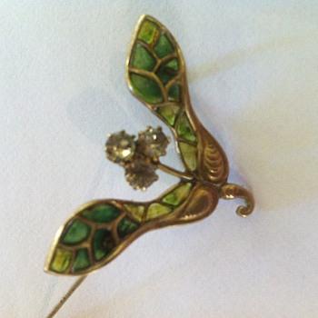 Enamel restore again! - Art Nouveau