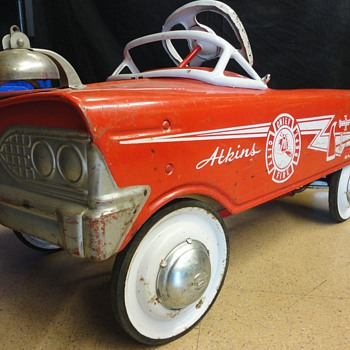 Atkins Fire Chief Car - Model Cars