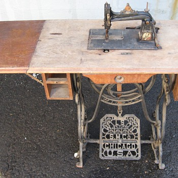 Wilson SM Co, W.G. Wilson Sewing Machine Co., Chicago, USA
