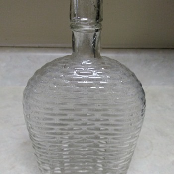 BASKET WEAVED BOTTLE - Bottles
