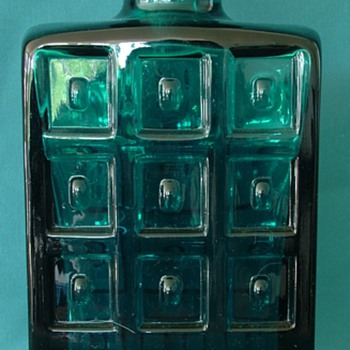 ?Scandinavian Art Glass Decanter