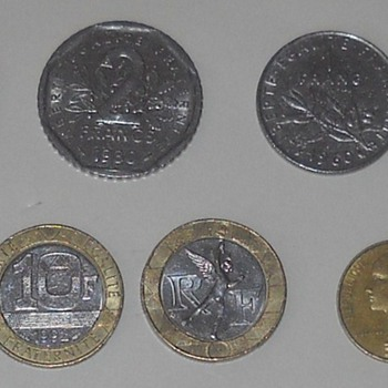 French coins - World Coins