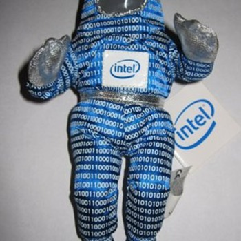 Intel stuffed doll - Dolls