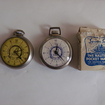 Newest/Oldest Seven Seas Pocket Watch