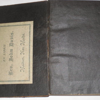 Japanese Bible 1886 Rev. John Davis - Asian